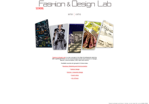 Fashion Design Lab